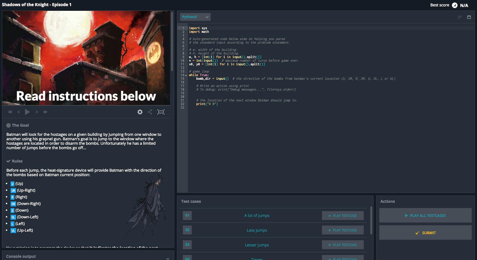 Practice Coding with CodinGame - Held IT